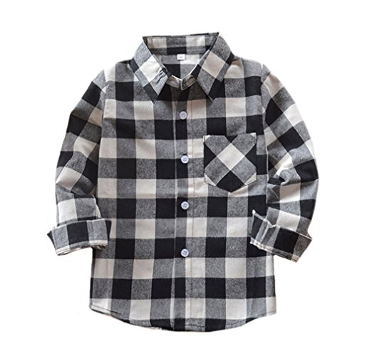 Lifestyle with a southern accent for White and black flannel shirt womens