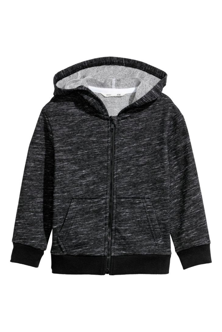 HM HOODED SWEATSHIRT JACKET